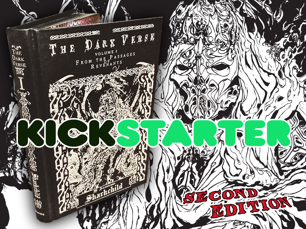 The Dark Verse, Vol. 1 Second Edition Kickstarter